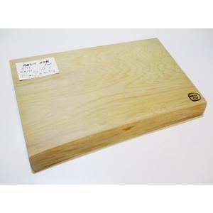 <新品>青森ひば 抗菌まな板 識別QB-6 珍しい耳付き!唯一無二のまな板です!分厚くて大きめのまな板です sugimoku