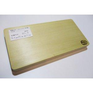 <新品>青森ひば&日光ヒノキのリバーシブルまな板です(一枚板同士を貼り合わせています)識別BO-4 今までになかったまな板です!|sugimoku