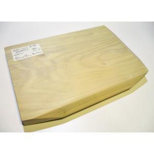 <新品>いちょう(銀杏)のまな板 特殊傾斜カット形状(一枚板)識別XE-7 厚めで一般的な大きさのまな板です|sugimoku