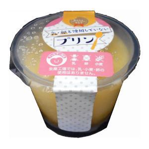 あんしんがとう 乳・卵を使用していないプリン 100g|sugiyamagokisoal