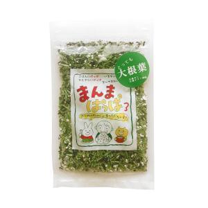 化学調味不使用 エキス・旨味調味料不使用 ふりかけ まんまぱっぱ  とっても大根葉 30g sugiyamagokisoal