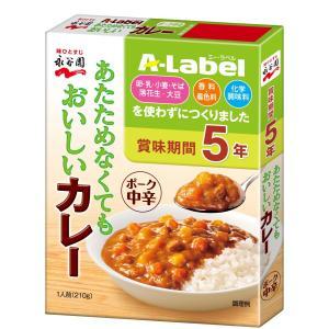 A-Label あたためなくてもおいしいカレー ポーク カレー 中辛 210g sugiyamagokisoal