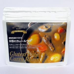 植物性素材100% 米粉 カレー ルウ ルー 150g|sugiyamagokisoal