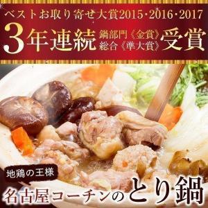 お鍋セット 名古屋コーチン 鍋用肉とスープセット(野菜なしセット)  地鶏 コーチン鍋 コーチン|suigodori