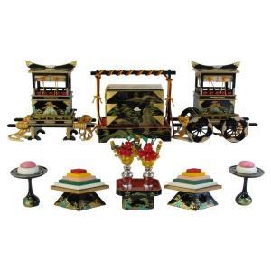 ひな人形 ひな道具 単品 部品 売り 前飾道具 六品道具 山水 111552 suiho
