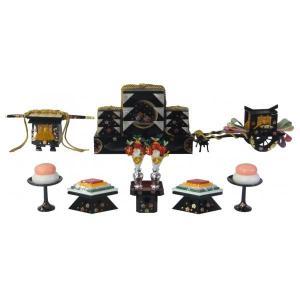 ひな人形 ひな道具 単品 部品 売り 前飾道具 六品道具 月見桜 111651 suiho