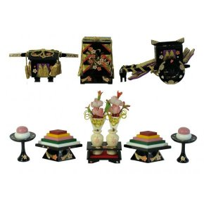 ひな人形 ひな道具 単品 部品 売り 前飾道具 六品道具 桜衣 111675 suiho