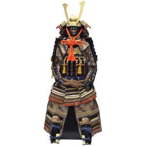 鎧単体等身大 等身大 鎧 紺白茶 114874|suiho