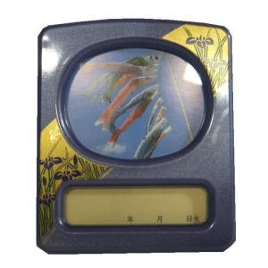 オルゴールつき写真立て 小 五月 鯉のぼり パール 136791 suiho