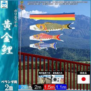 鯉のぼり フジサン こいのぼりセット 黄金鯉 20号 小型セット 139631145|suiho