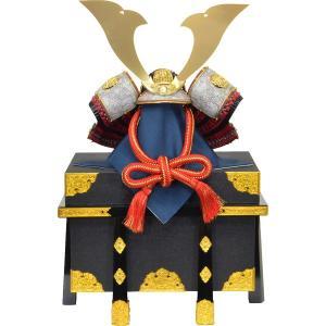 兜単体 15号 大翔 黒小札 正絹赤糸 140545|suiho