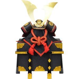 兜単体 15号 真田 黒小札 正絹赤糸 140552|suiho