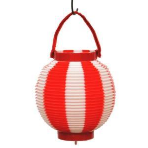 提灯 ちょうちん 赤提灯 赤ちょうちん 祭り ポリ提灯 豆提灯  ポリ豆提灯 モール付 赤/白 218510 suiho