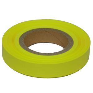 七夕 蛍光テープ 25mm × 200m レモン 816723 suiho