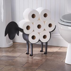 トイレットペーパーホルダー sheep 羊型スタンド 輸入品  アイアン スチール製 ひつじ|suikaya9001
