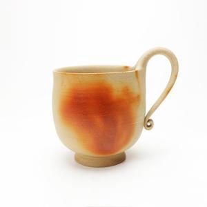 緋襷 ひだすき コーヒーカップ 径7.5cm×高8cm 1客 化粧箱入 ギフト|suikinkarou