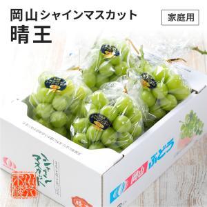 シャインマスカット 晴王 家庭用 訳あり 3~5房 約2kg 岡山県産 ぶどう ブドウ 葡萄 フルーツ ギフト プレゼント 9月上旬頃より発送 送料無料|suikinkarou
