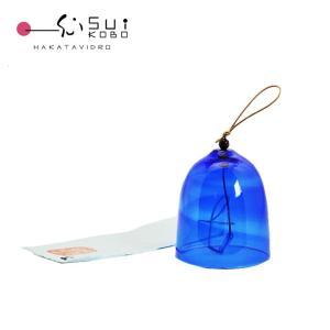 博多風鈴 天の川 fu-01蓄光材入りで暗闇で光るガラスの風鈴 手作りの柔らかい音をどうぞ 博多風鈴...
