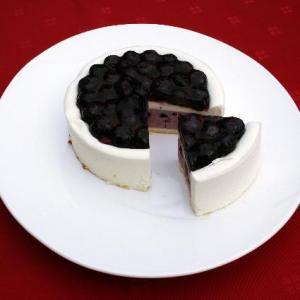 皇室御用達・有機JAS認証ブルーベリーたっぷり濃厚チーズケーキ『ベリーベリー』|suisainet