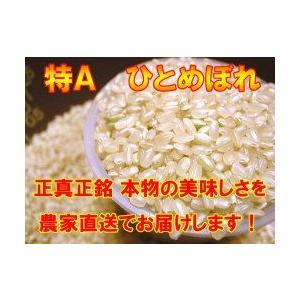 宮城県産ひとめぼれ 『特別栽培米』 玄米10k|suisainet