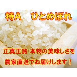 宮城県登米産ひとめぼれ 『特別栽培米』 白米10kg suisainet