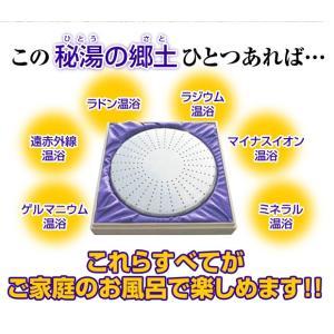 秘湯の郷土(ひとうのさと) 家庭用温浴器|suisainet