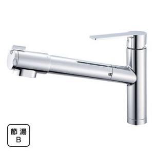 SAN-EI 浄水器付シングルレバー水栓 K87580JV|suisainet