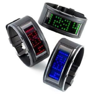 LEDウォッチ (LED腕時計) レッド|suisainet