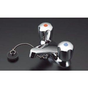 TOTO 2ハンドル混合水栓 TL306R4GUR (ゴム栓タイプ)|suisainet