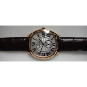 Cartier カルティエ ドライブ ドゥ カルティエ PGケース シルバーダイヤル レザーストラップ WGNM0003|suisho