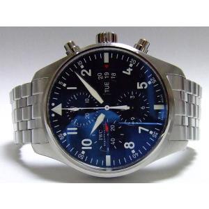 IWC PILOT WATCH パイロットウォッチ クロノグラフ ブレスレット IW377704|suisho