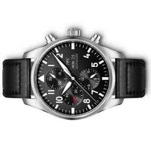 IWC Pilots Watch Chronograph パイロットウォッチ クロノグラフ オートマティック 43mm 革 IW377709|suisho