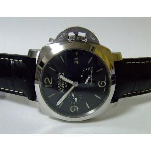 OFFICINE PANERAI LUMINOR パネライ ルミノール1950 3days GMT パワーリザーブ 44mm PAM00321|suisho