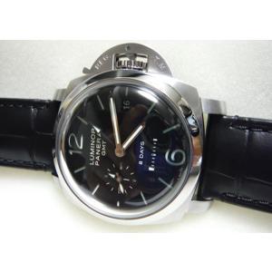 OFFICINE PANERAI  パネライ ルミノール1950 8デイズ GMT レザー PAM00233|suisho