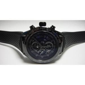 TAG HEUER タグホイヤー Carrera Chronograph Calibre 01 カレラ キャリバー ホイヤー01 セラミックケース ラバー CAR2A90.FT6071|suisho