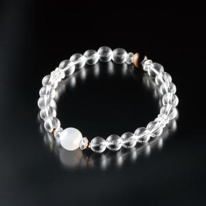金運九星ブレス 一白水星(白メノウ)|suishowin-shop
