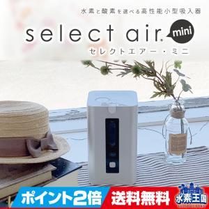 水素と酸素を選べる吸入器セレクトエアー・ミニ|suiso-oukoku