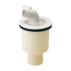 カクダイ 洗濯機パン用排水トラップ 縦引タイプ 426-131 送料無料