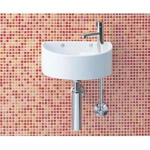 オシャレなボトルトラップの付いた狭小手洗器 LIXIL・INAX AWL-33(B)|suisuimart