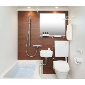 LIXIL・INAX 浴槽・洗面・便器(シャワートイレ付)付ユニットバスルーム 1216サイズ BLCW-1216LBE|suisuimart
