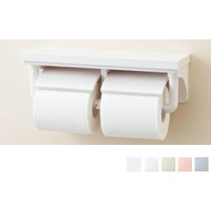 おトイレをプチリフォーム LIXIL・INAX 棚付2連紙巻器 CF-AA64 カラー5色|suisuimart