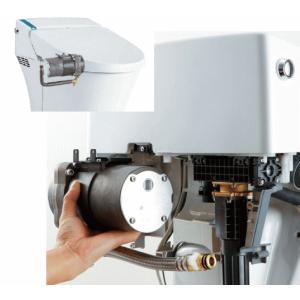 カンタン後付で水圧不足解消! LIXIL・INAX サティス用低流動圧対応ブースター CWA-217A|suisuimart