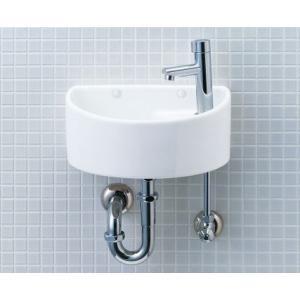 狭小スペースにもぴったり。コンパクトな手洗器 LIXIL・INAX AWL-33(P)|suisuimart