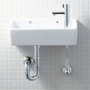 コンパクトな壁付手洗器 角形タイプ カラー4色あります。 INAX・LIXIL L-A35HC|suisuimart