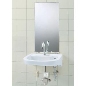 車椅子対応洗面器 LIXIL・INAX L-365APRセット 自動水栓・化粧鏡付 suisuimart