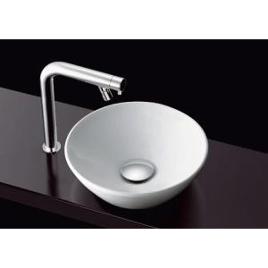 オシャレなカウンター式丸形手洗器とモダンな水栓金具のセットです。 TOTO L701セット|suisuimart