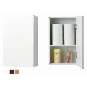 トイレットペーパーの収納等に 壁掛収納棚 ジャニス LTC3301T 扉カラー3色|suisuimart