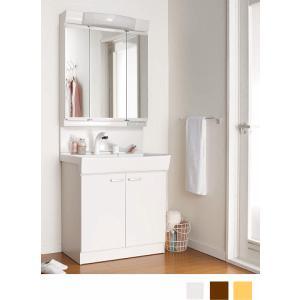 ジャニス工業 洗髪・洗面化粧台 リフレスタンド 間口750ミリ LED照明 3面鏡 扉カラー3色 suisuimart