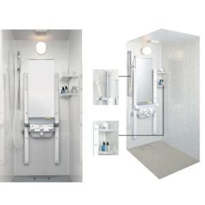 送料無料 LIXIL・INAX シャワーユニット シャワー・ド・バス付 SPBS-0812LBEH|suisuimart