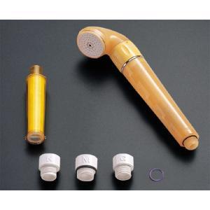 送料無料 塩素をビタミンCで低減!髪や素肌にやさしいビタCシャワーヘッド 原水切替付タイプ TOTO THY718-2R|suisuimart